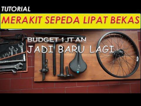 merakit sepeda lipat bekas , budget 1 jt an jadi baru lagi