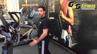 Components of an Elliptical - Stride Length