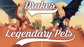 Runescape - Drakes and Legendary Pets