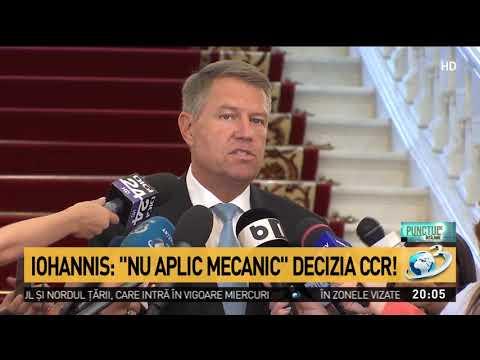 Klaus Iohannis, atac violent la Dragnea: E inadmisibil ca un infractor să amenințe magistrații la