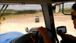 Driving the New Holland T9
