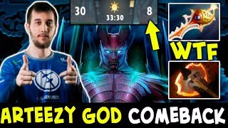 EG Rapier Comeback — Arteezy GOD Battle Fury Terrorblade