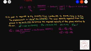 SPH4U/ Grade 12 Physics: 1.6 Relative Motion