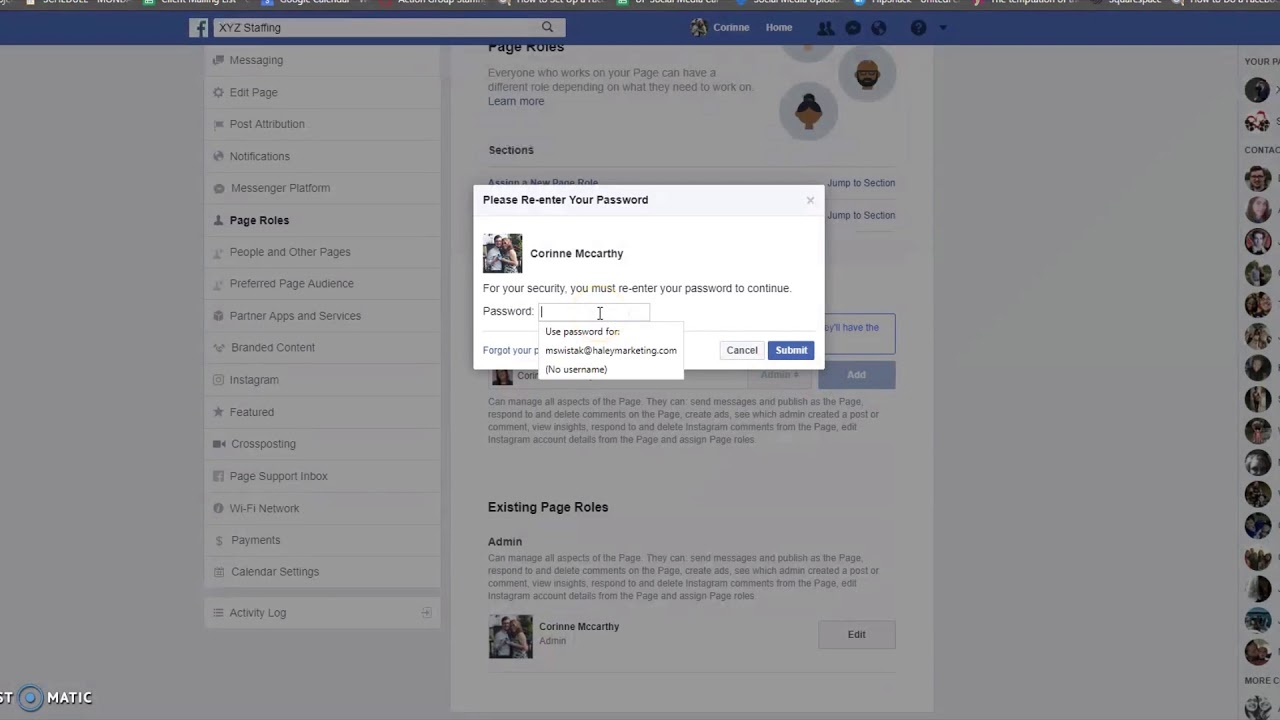 How to Add and Remove a Facebook Admin