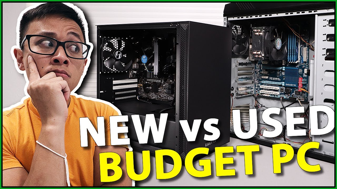 NEW vs OLD Budget Gaming PC... ft. a GALAX 3080 Ti?!