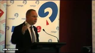 AngloGold Ashanti (NYSE:AU) Mark Cutifani at Sydney Mining