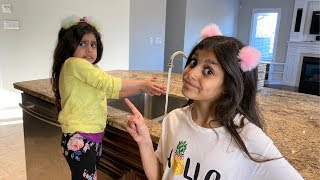 Deema and Sally - Story of how important to Wash hands