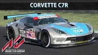 Assetto Corsa Gameplay (PC) - Corvette C7r @ Mugello | Corrida | Comentado | G27