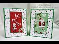 CHRISTMAS CARD DAY 1 | CRAFT SMITH | Deth's Greetings