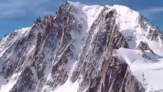 Mont-Blanc Alps Near Chamonix, France