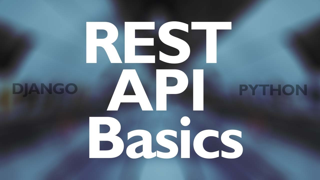 Build a Rest API with the Django REST Framework