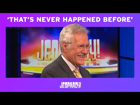 Jeopardy!   Contestant Interview Blooper