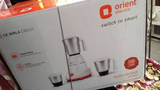 Orient_Elecric_Mixer__Grinder ₹2000 Best Mixer | Unboxing_Reviews__detailing 500 watt.Motor@price..