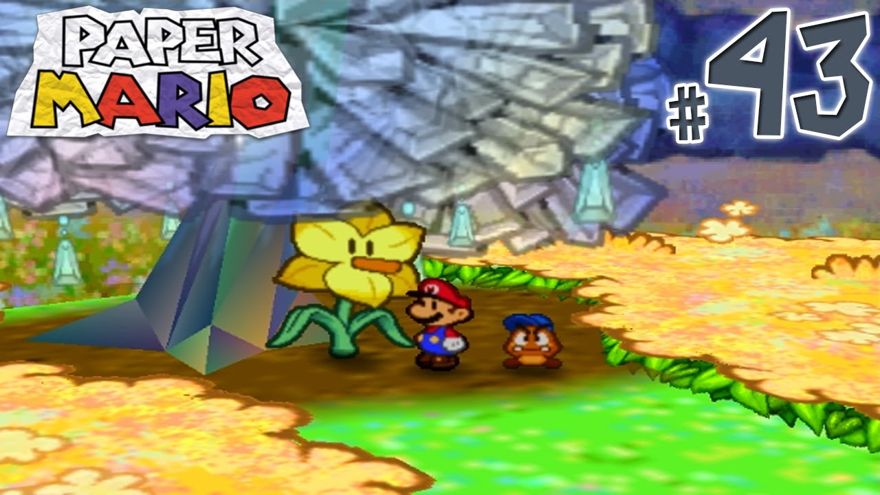 Paper Mario Gameplay Walkthrough Part 43 Flower Fields In