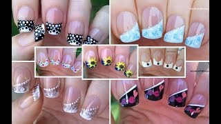 NAIL ART COMPILATION #5 - French Manicure Designs / LifeWorldWomen