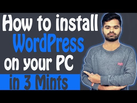 How to install WordPress on your PC  & Make A Website thumbnail