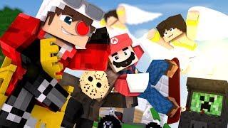 НОВАЯ КРУТАЯ КАРТА С КЛЕВЫМИ МИНИ ИГРАМИ НА РЕАЛМСЕ! Minecraft Mini games
