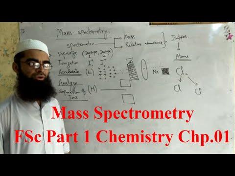 Mass Spectrometry in Urdu FSc Part 1