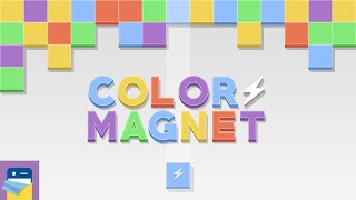 Color Magnet: iOS iPhone Gameplay Walkthrough (by The One Pixel)