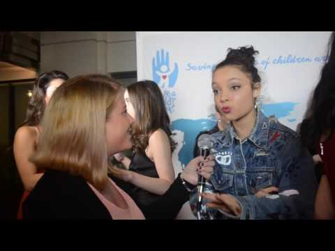 Stuck in the Middle's Kayla Maisonet Interview at Save A Child's Heart Gala
