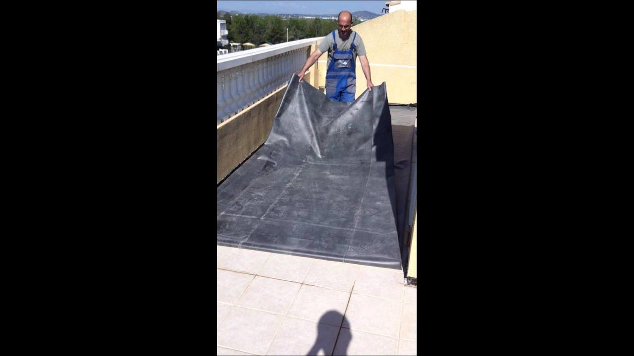 Impermeabilizar terraza de evita goteras for Impermeabilizar terraza transitable