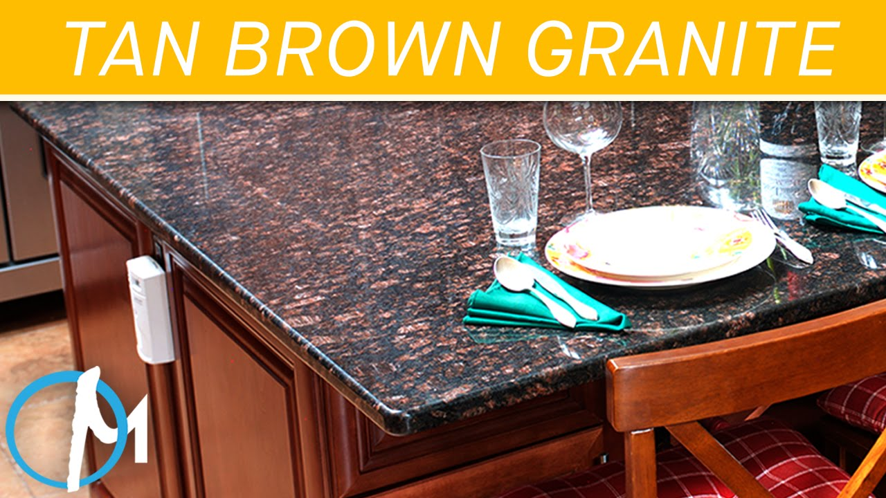 Tan Brown Granite Countertops III | Marble.com   YouTube