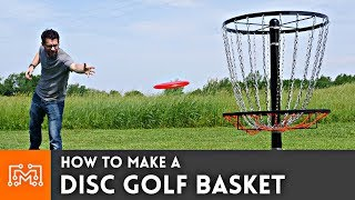 How To Make A Disc Golf Basket