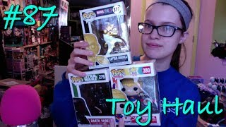 Gold Chrome Captain America Funko Pop/Christmas Darth Vader Pop/Rainbow Bright Pop - Toy Haul Ep 87