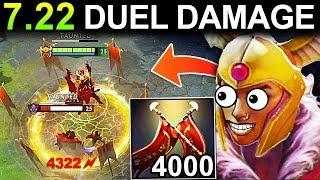 OMG 4000+ DAMAGE LEGION COMMANDER PATCH 7.22 NEW META GAMEPLAY DOTA 2