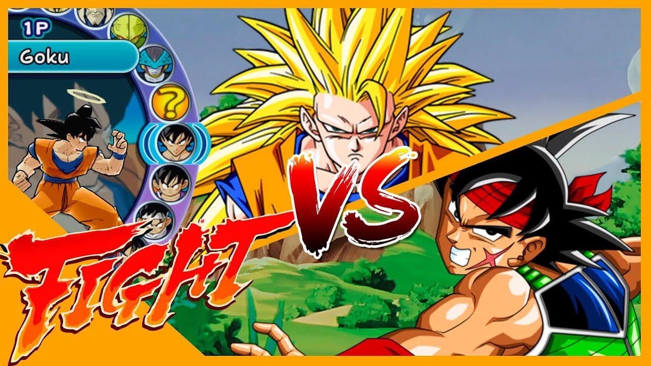 Goku Halo VS Bardock Dragon ball Z Budokai 3 Duelo - VS ...
