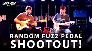 The Random Fuzz Pedal Shootout - 5 Boutique Pedals You Have Probably Never Used