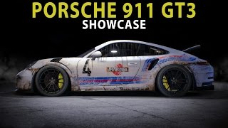 NFS 2015 - Scratched Porsche 911 GT3 RS (Cinematic / Speed Art / Showcase / Customization)
