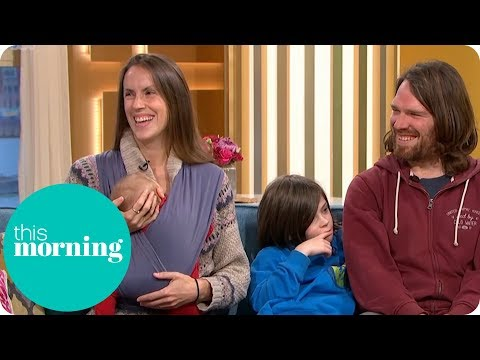 The Off-Grid Family Return With a New Member | This Morning