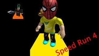 So fast, as Sonic | Roblox's Speed Run 4