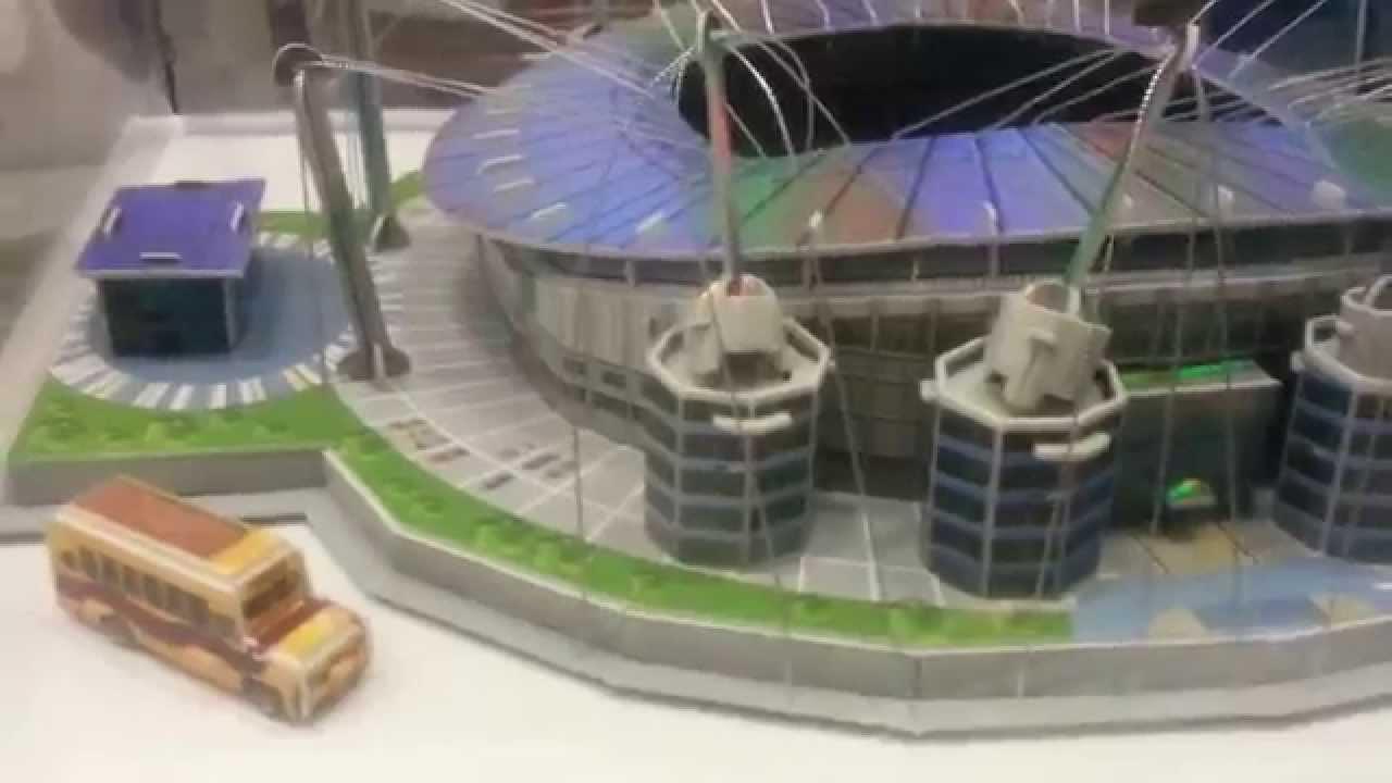 puzzle 3d zbudowane stadiony pi karskie youtube. Black Bedroom Furniture Sets. Home Design Ideas