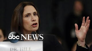 Fiona Hill gives nation and Republicans stark warning