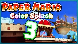 PAPER MARIO: COLOR SPLASH Part 3: Er ist zu klein?!
