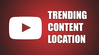 Video How to change Trending Content Country on Youtube download MP3, 3GP, MP4, WEBM, AVI, FLV September 2018