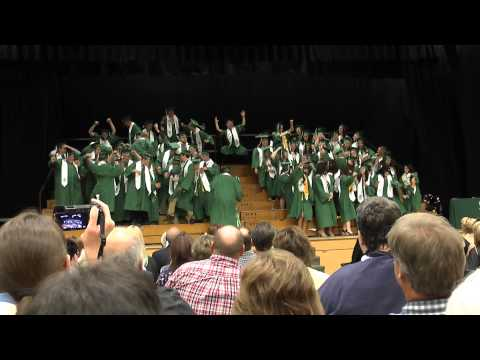Fort Kent Community High School Graduation 2013 CLOSING DANCE - HARLEM SHAKE