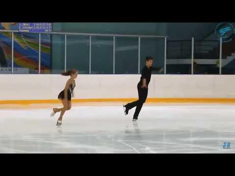 Валерия Поносова - Артем Панов КП КМС 1 этап Кубка Санкт-Петербурга 2019