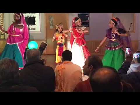 Appreciation night performance by the Girls at Iskcon Auckland
