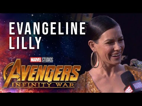 Evangeline Lilly Live at the Avengers: Infinity War Premiere