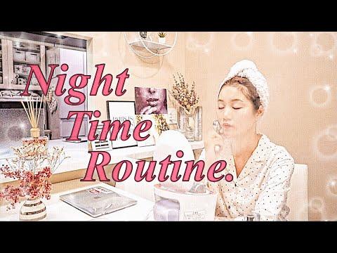 【ナイトタイムルーティン】~子供が就寝後、美容にたっぷり時間を費やす編~