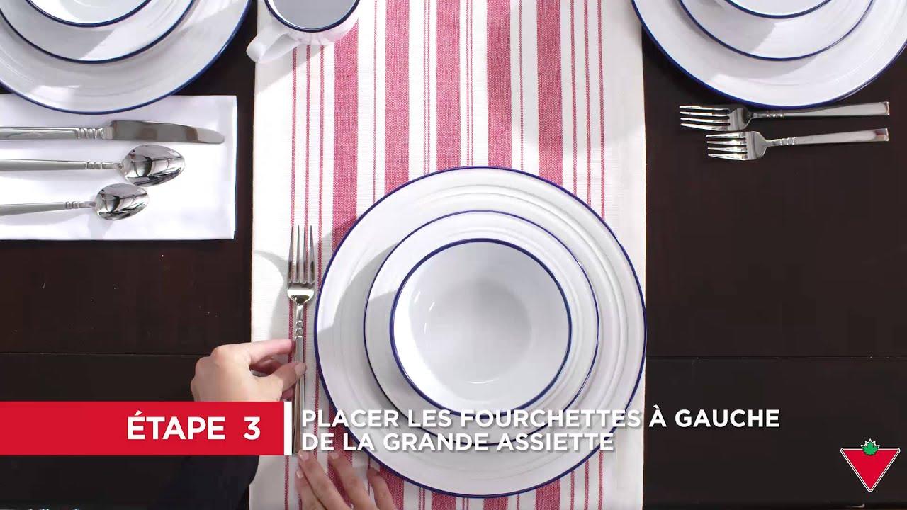 comment mettre la table 5 tapes youtube. Black Bedroom Furniture Sets. Home Design Ideas