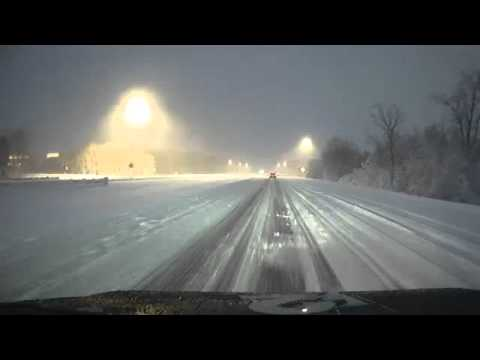 Live drive through around metro Detroit