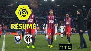 SM Caen - Angers SCO (2-3)  - Résumé - (SMC - SCO) / 2016-17