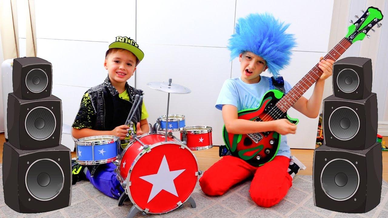 Groupe de musique Vlad et Niki