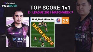 FORMASI TERBARU AKBAR PAUDIE TOP SCORE 1v1 E-LEAGUE THAILAND PES 2021