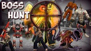Ran Online GS All BOSS Solo Hunt Gunner INT ( Saint Server)
