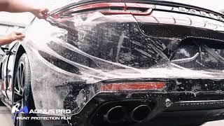 Porsche Panamera 4S -  MAGNUS PRO Paint Protection Film PPF